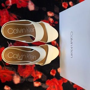 New Calvin Klein  Heel Sandal